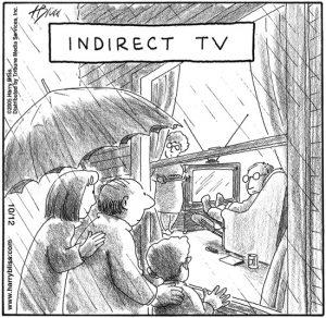 Indirect TV