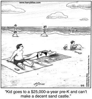 Decent sandcastle