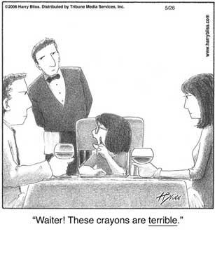 Terrible crayons