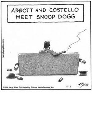Abbott & Costello meet Snoop Dogg
