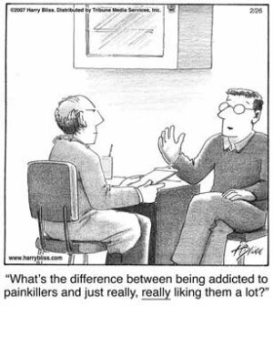 addicted to painkillers