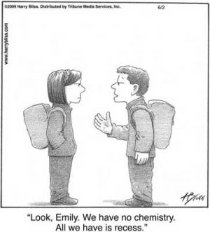 We have no chemistry