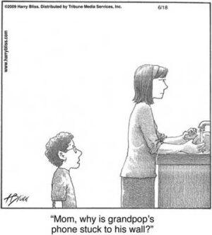 Grandpop's phone