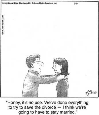 save the divorce...