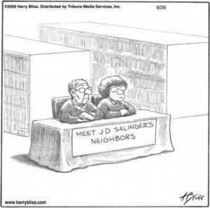 Meet JD Salingers Neighbors