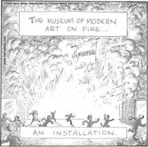 The Museum of Modern Art on Fire