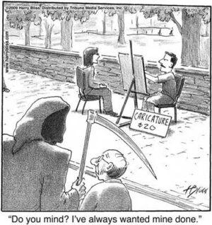 Caricature $20