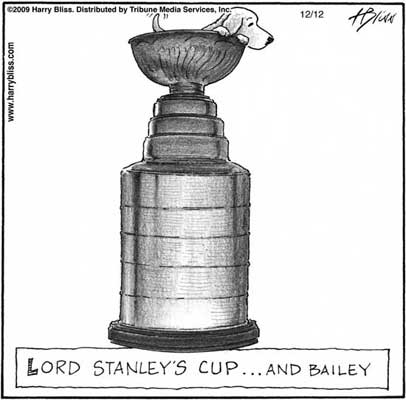 Lord Stanley's Cup... and Bailey