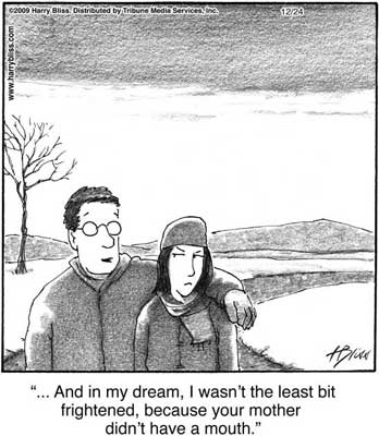 and in my dream...