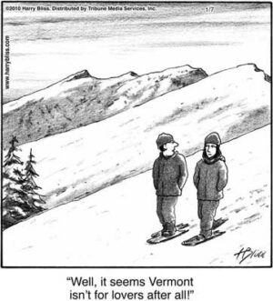 Vermont isn't for lovers