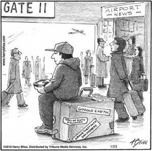 Virtual suitcase