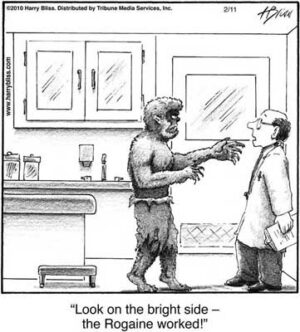 look on the bright side
