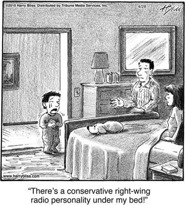 Conservative right-wing radio personality