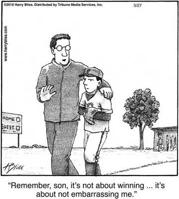 it's not about winning...