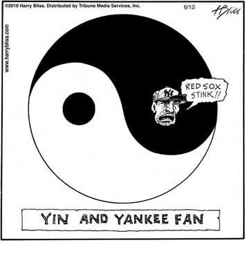Yin and Yankee fan