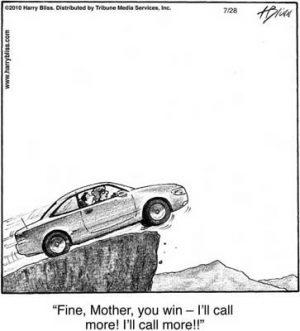I'll call more!