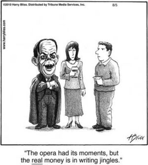 The opera had ist moments
