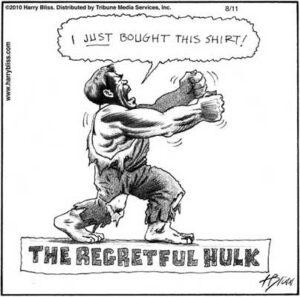 The regretful hulk