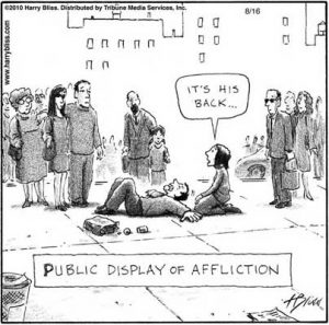 Public display of Affliction
