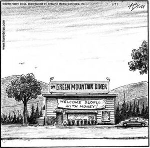 Green mountain Diner