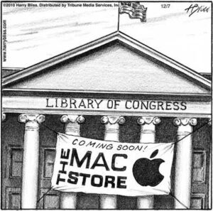 Library of Congress Mac store