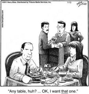 Any table huh?..