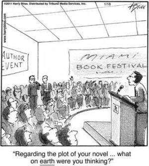 Regarding the plot of your novel