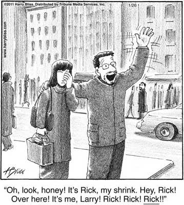 Oh look honey! its Rick