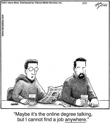 Maybe its the online degree talking...