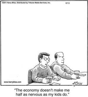 The economy...