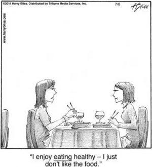 I enjoy eating healthy...