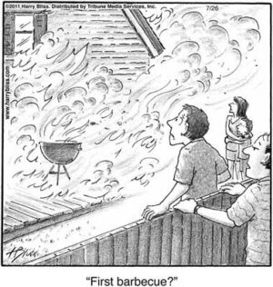 First barbeque?