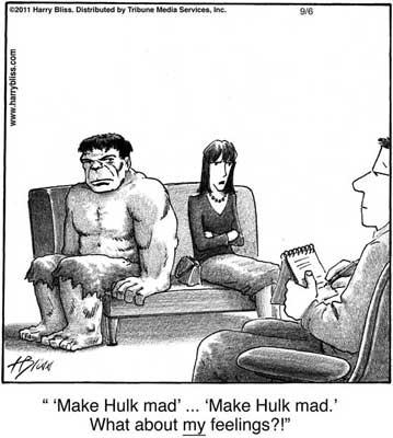 Make Hulk mad...