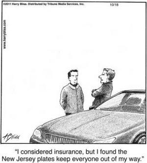 I considered insurance...
