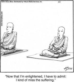 Now that I'm enlightened...