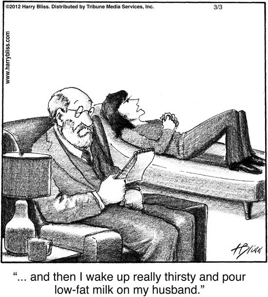 and then I wake up really thirsty...