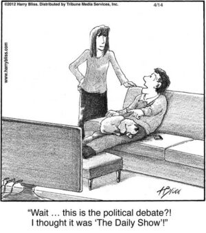 Wait... this is the political debate?!...
