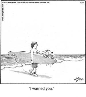 I warned you...