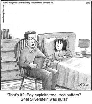 That's it?! Boy exploits tree...