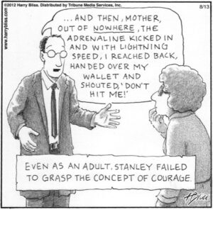 The concept of courage