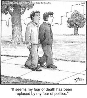 It seems my fear of death...