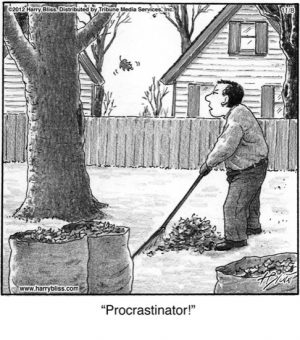 Procrastinator!...