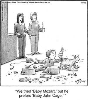 """We tried """"Baby Mozart""""..."""