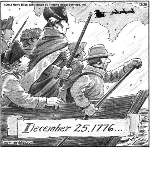 December 25th 1776...