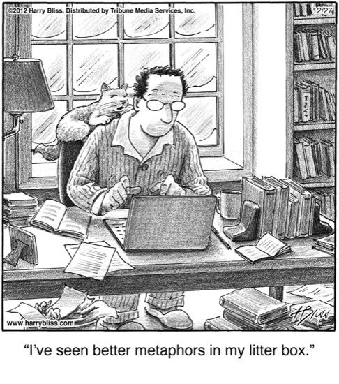 I've seen better metaphors...