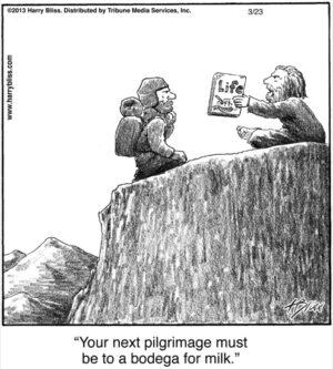 You're next pilgrimage...
