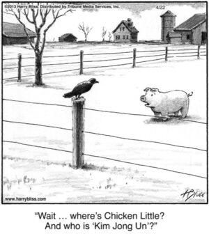 Wait... where's Chicken Little?...