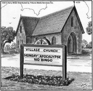 Monday: Apocalypse...