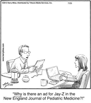 Why is there an ad for Jay-Z...