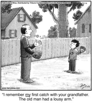 I remember my first catch...